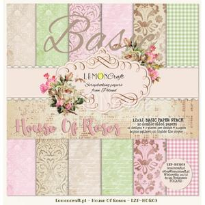 """Papperspack 12 x 12"""" House of Roses Basic"""