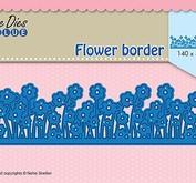 "Nellie Snellen  Shape Dies Blue ""Flower border"""