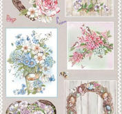 Marianne Design - Klippark-Country flowers