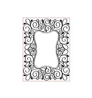 Darice - Embossing folder -ram