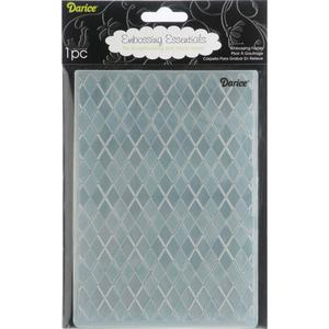 "Darice - Embossing folder -ruter 5""x7"""