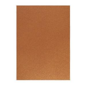 Craft Perfect- Perlised card - rusted crimson