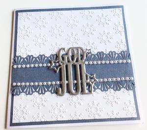 Nellie Snellen - Embossing folder snowflakes