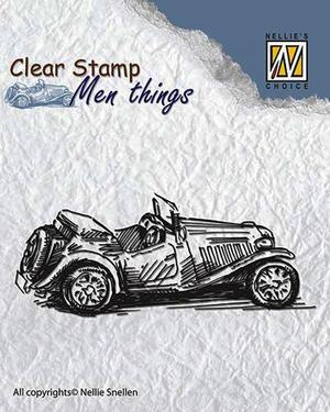 Nellie - Snellen - clear stamp  Men things 005