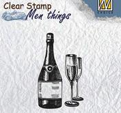 Nellie - Snellen - clear stamp  Men things 003