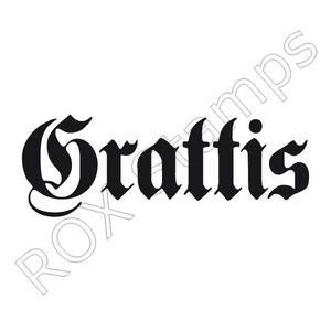 Grattisstämpel - Gothic  NYTTLÄGRE PRIS