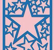Nellie Snellen - Shape dies blue - Star Frame