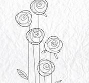 Nellie Snellen - Clearstamp -Flower-24