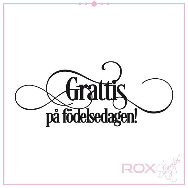 grattis på födelsedagen hälsning Grattis på födelsedagen   Rox Stamps grattis på födelsedagen hälsning
