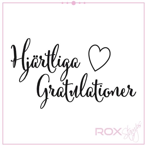 hjärtliga gratulationer till brudparet Hjärtliga gratulationer   Rox Stamps hjärtliga gratulationer till brudparet